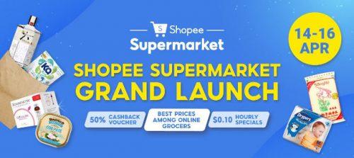 shopee supermarket launch