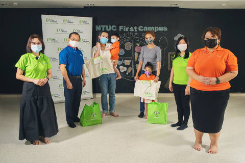 NTUC First Campus' Food and Nutrition Programme To Support Low-income Families