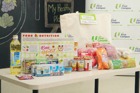 NTUC First Campus Food and Nutrition Programme
