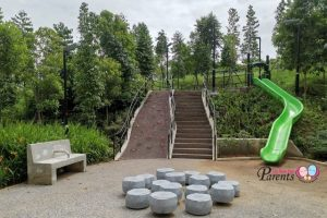 New Bukit Gombak Park Singapore Opens With 108 Steps Up the Top