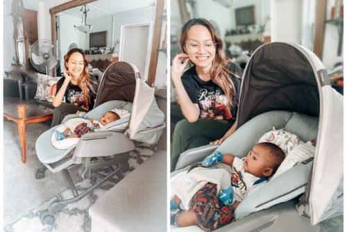 COMBI BEDi Long Sleep Shell Parenting Station simplysue