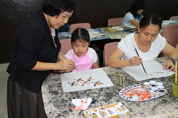 Calligraphy and Chinese painting programme SHHKACT