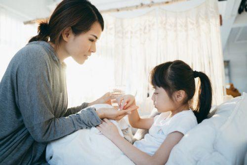 Contagious illness in children