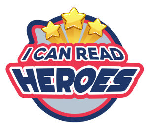 I Can Read Heroes logo