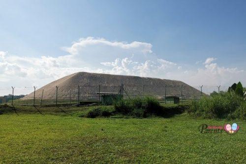 Tampines HDB Sand Stockpile