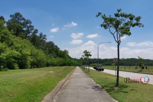 Tampines Industrial Ave 1 Road to Tampines Quarry
