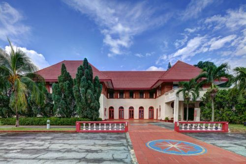 Former Admiralty House Sembawang Heritage Trail NHB