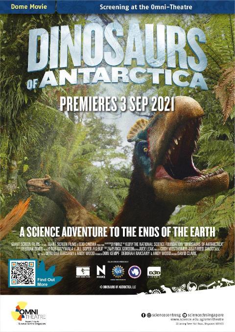 Dinosaurs of Antarctica Omni Theatre