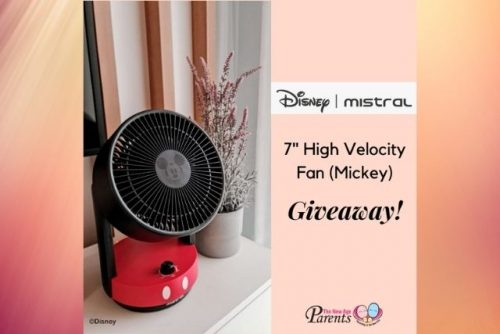 Disney x Mistral 7 inch High Velocity Fan Giveaway