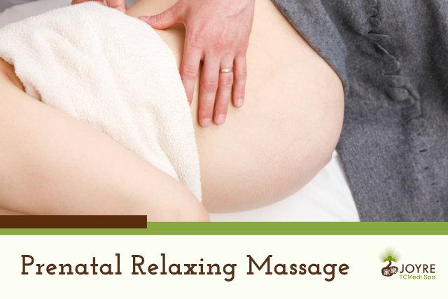 Joyre Prenatal Massage Treatment