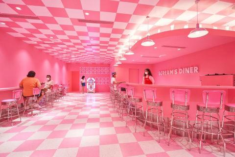 Museum of Ice cream Singapore Scream's Diner