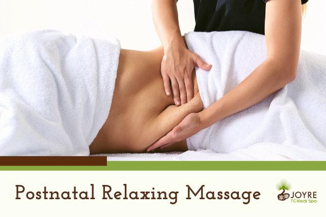 Postnatal Massage Treatment Joyre