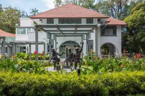 Reflections At Bukit Chandu Museum