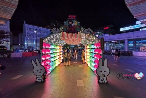 chinatown mid autumn lanterns 2021
