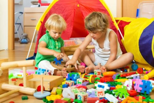 how to engage kids at home building play