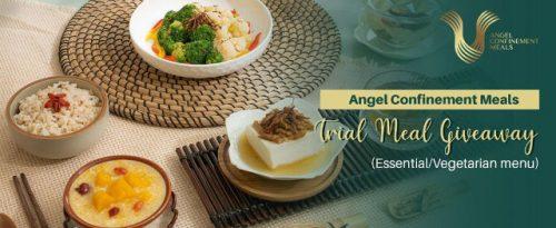 Angel Confinement Meals giveaway