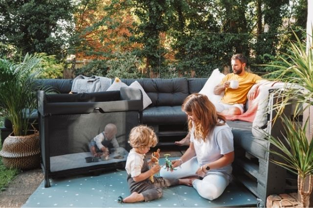 Bugaboo Stardust – The One-Second Pop-Up All-in-one Portable Cot