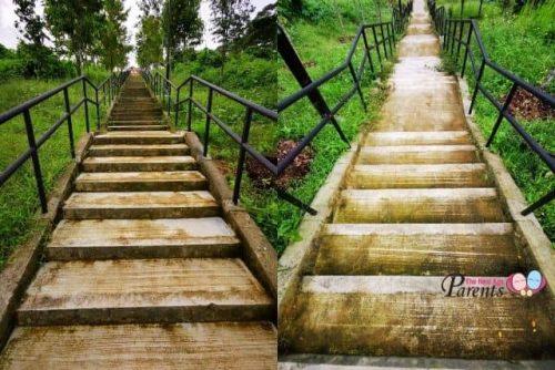 Bukit Gombak Park Singapore 108 Steps stairs