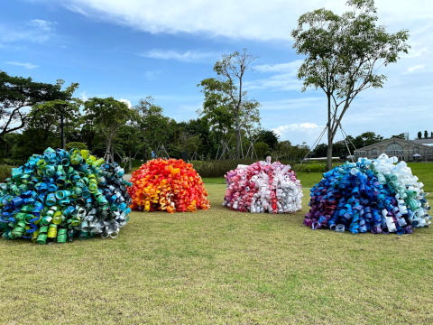 Community art installations in collaboration with Extra•Ordinary People