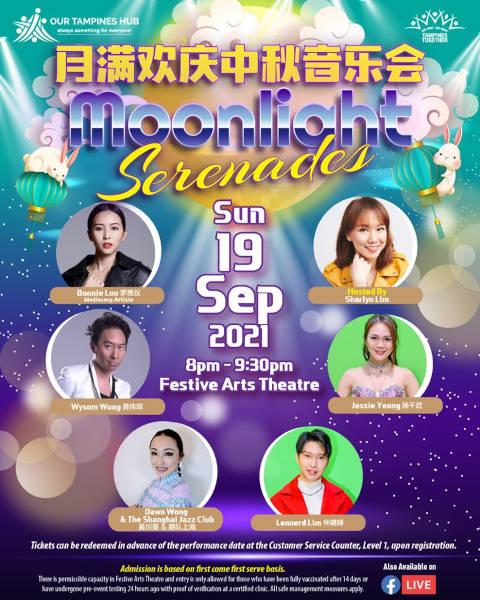 Mid-Autumn Festival Concert Moonlight Serenades 2021