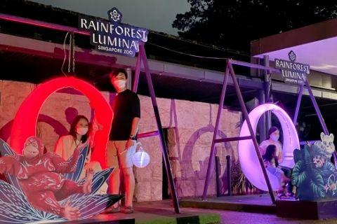 Mid Autumn Festival Rainforest Lumina Singapore