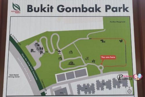 New Bukit Gombak Park Map