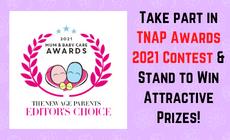 TNAP Awards 2021 Contest Mum & Baby Care