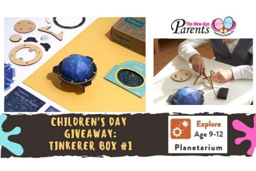 TNAP children`s day giveaway 2021 - Planetarium