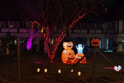 Halloween decor at Sembawang