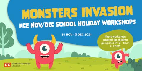 Marshall Cavendish Education Nov / Dec Holiday Workshops 2021