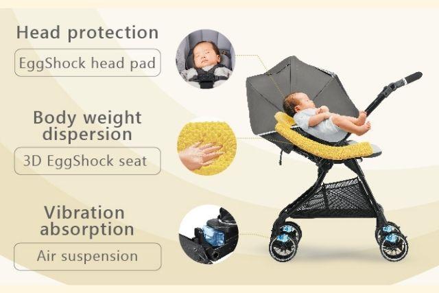 Strollers for newborn Combi Sugocal